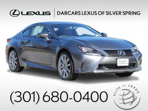 2016 Lexus RC 300 Premium Package / Navigation